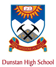 Dunstan High School Logo