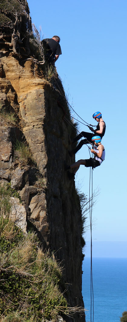 Outdoor Education: Abseiling