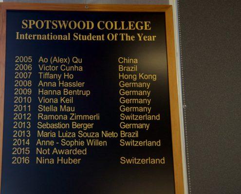 Spotswood College 16