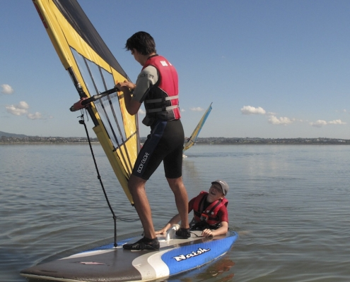 Western Springs College 25: Windsurfing