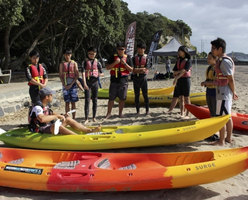 Western Springs College 18: Kayaking