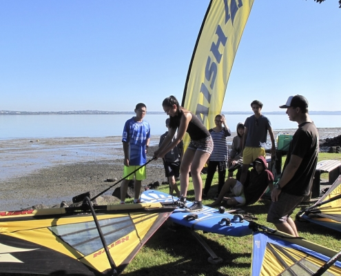 Western Springs College 23: Windsurfing