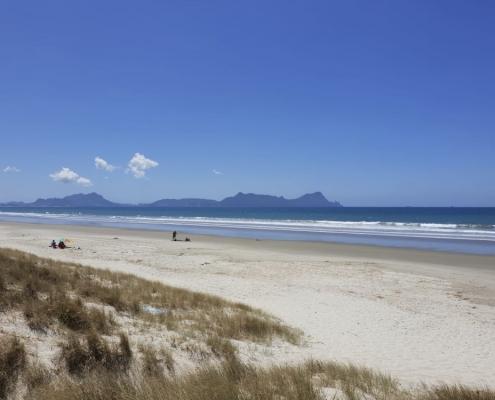Strand in den Northlands zwischen Auckland und Kerikeri